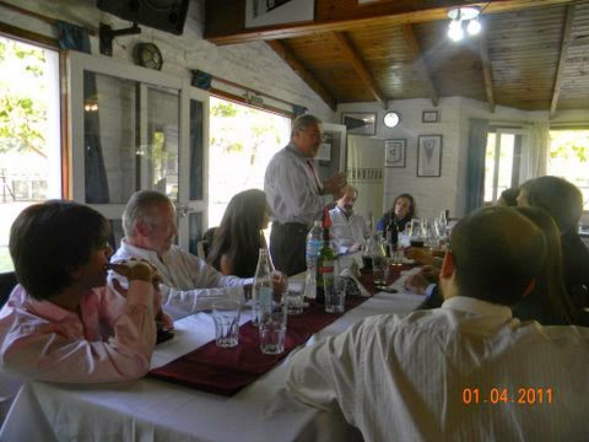 Almuerzo nuevos adherentes – Abril 2011
