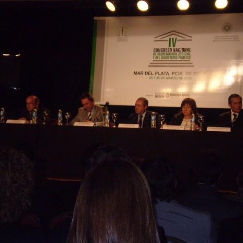 IV Congreso Nacional de Secretariado Judicial y del Ministerio Público