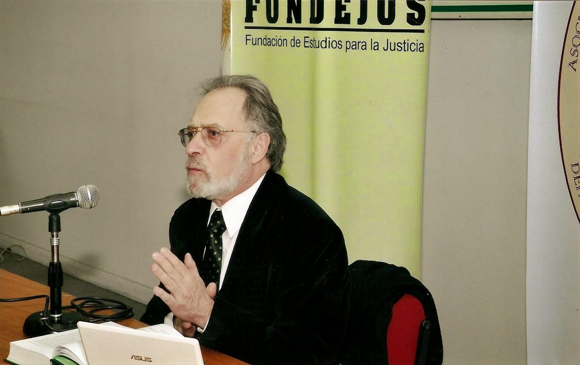 Jornada la situación actual del Derecho Penal – Dr. Edgardo Donna