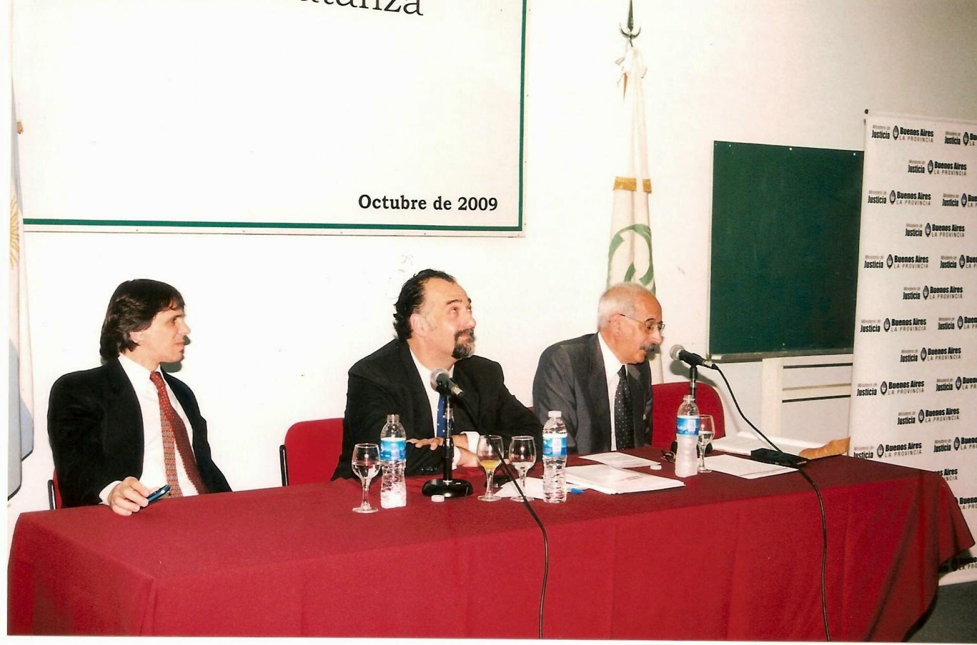 El Ministro de Justicia Bonaerense en La Matanza