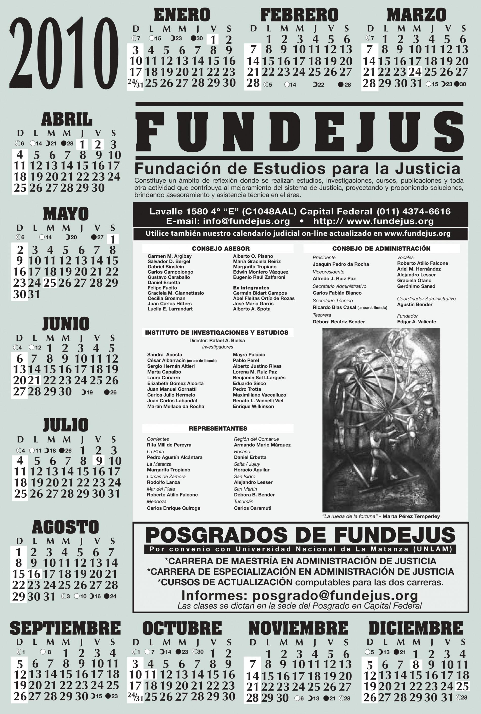 Almanaque 2010