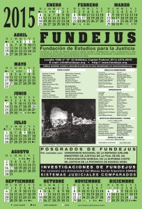 Fundejus -Calendario 2015-