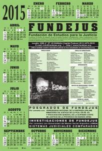 Fundejus -Calendario 2015-