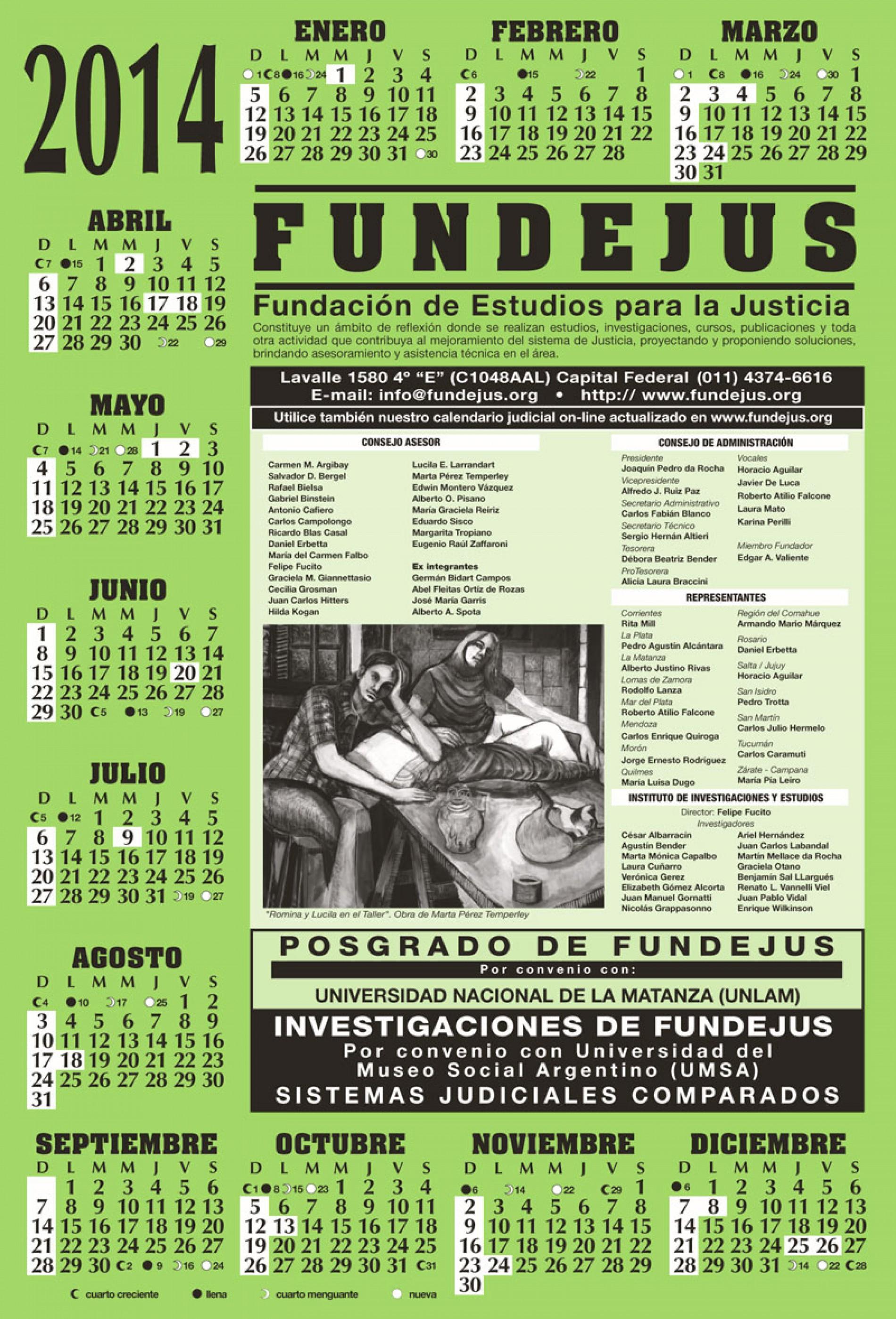 Almanaque 2014