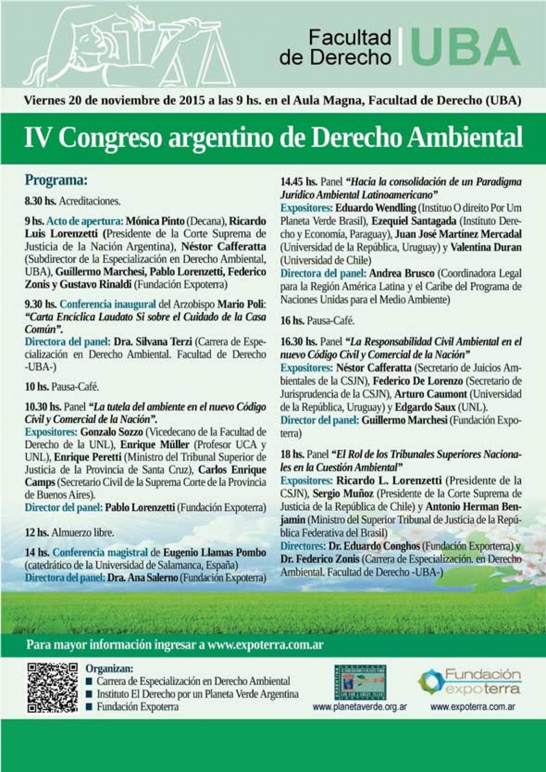 IV Congreso argentino de Derecho Ambiental