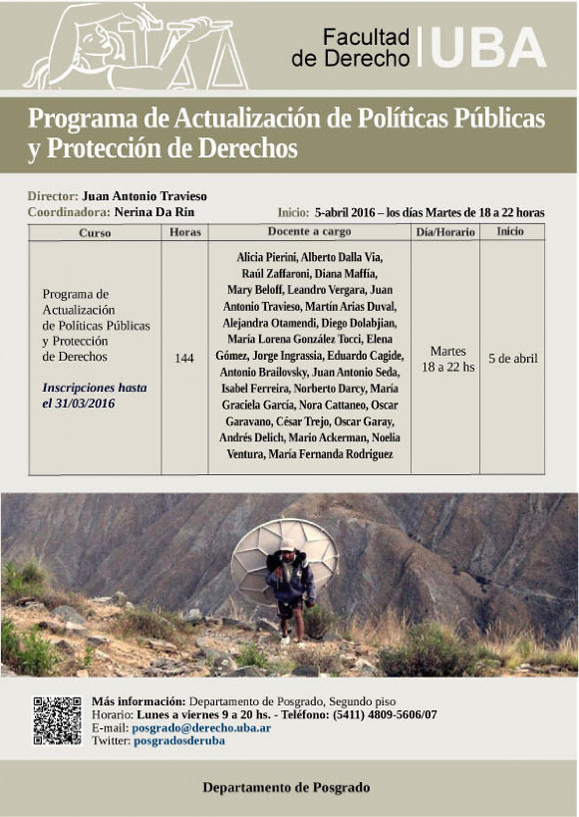 Programa de Actualización de Políticas Públicas y Protección de Derechos