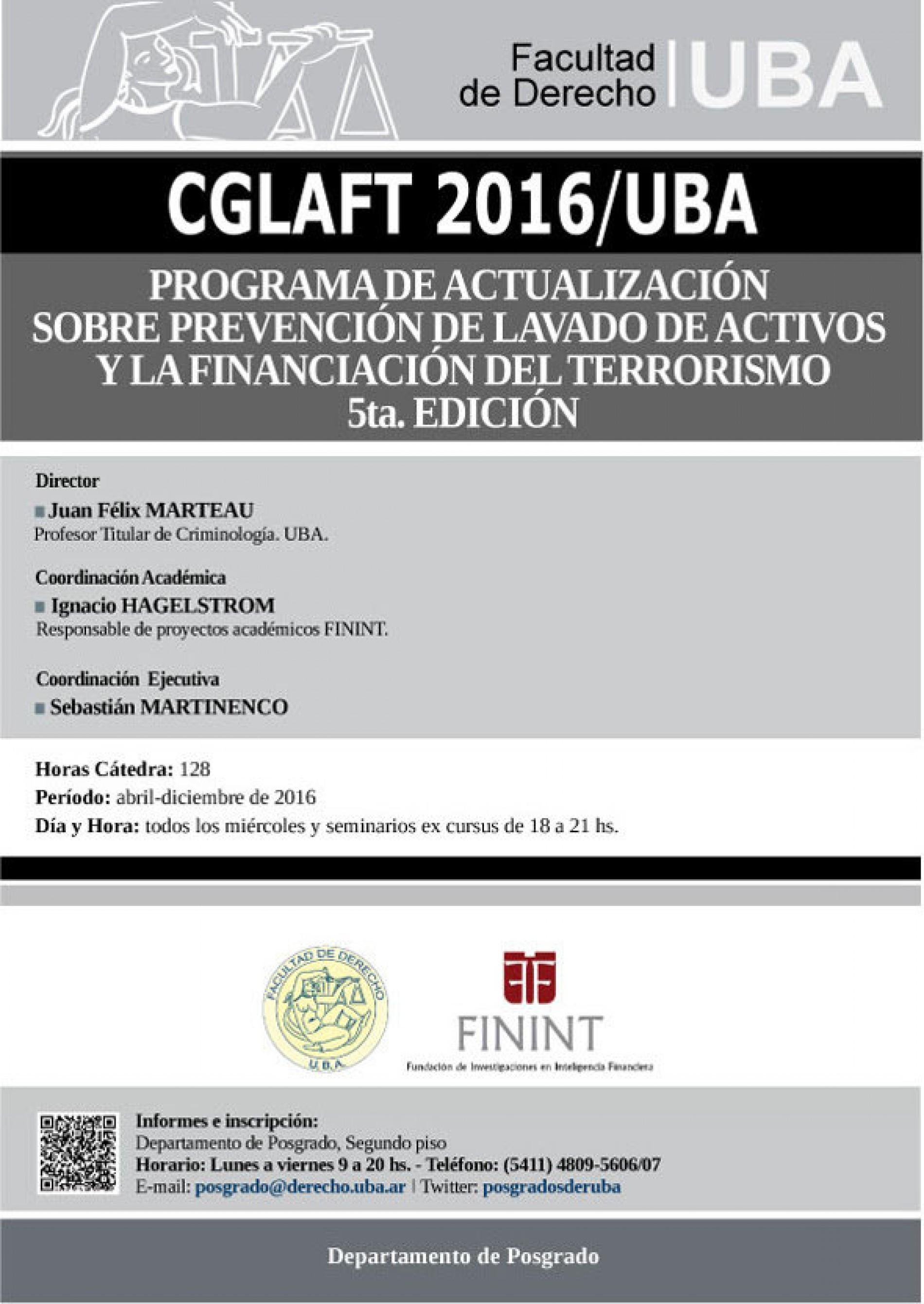 Programa de Actualización sobre Prevención Global de Lavado de Activos y Financiación del Terrorismo