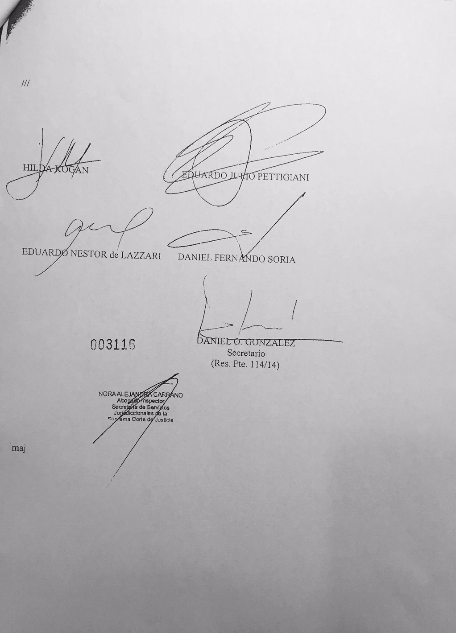 SCBA – Declara de interés las Jornadas Nacionales sobre Transformaciones en la Justicia