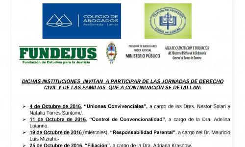 CICLO DE CONFERENCIAS EN CONMEMORACIÓN AL PRIMER ANIVERSARIO DEL CÓDIGO CIVIL Y COMERCIAL DE LA NACIÓN
