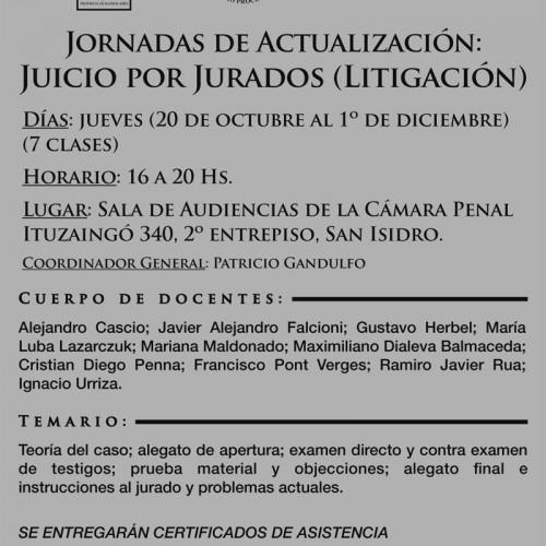 "Juicio por Jurados "" litigación """