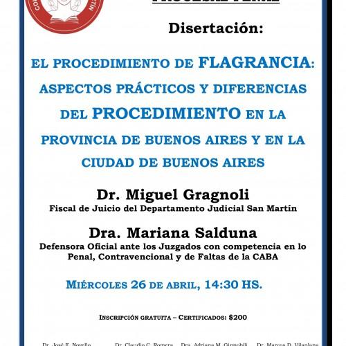 El procedimiento de flagrancia: Aspectos prácticos y diferencias del procedimiento en la Pcia. de Buenos Aires y en la ciudad de Buenos Aires