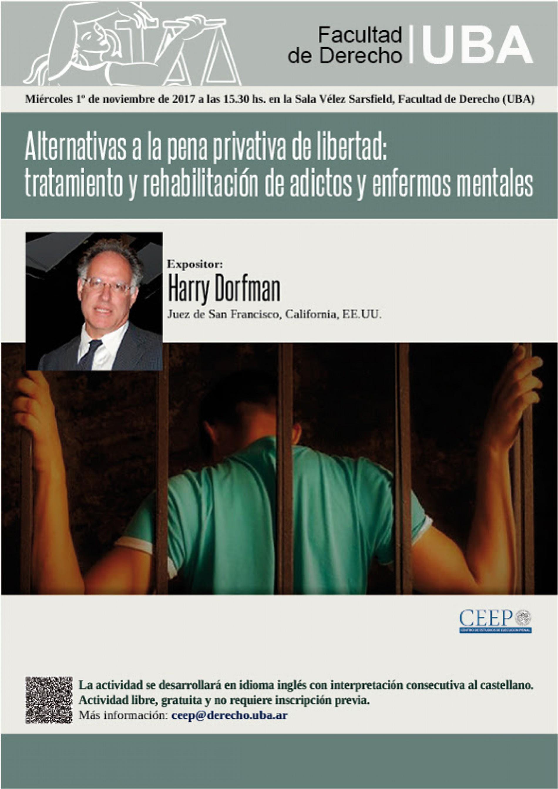 Alternativas a la pena privativa de libertad: tratamiento y rehabilitación de adictos y enfermos mentales