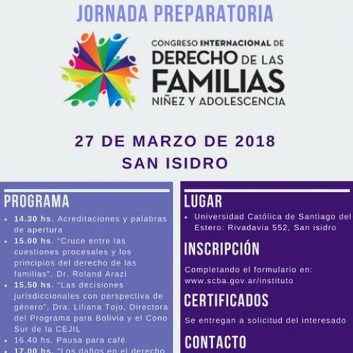 """""""Congreso Internacional de Derecho de las Familias. Niñez y Adolescencia"""""""