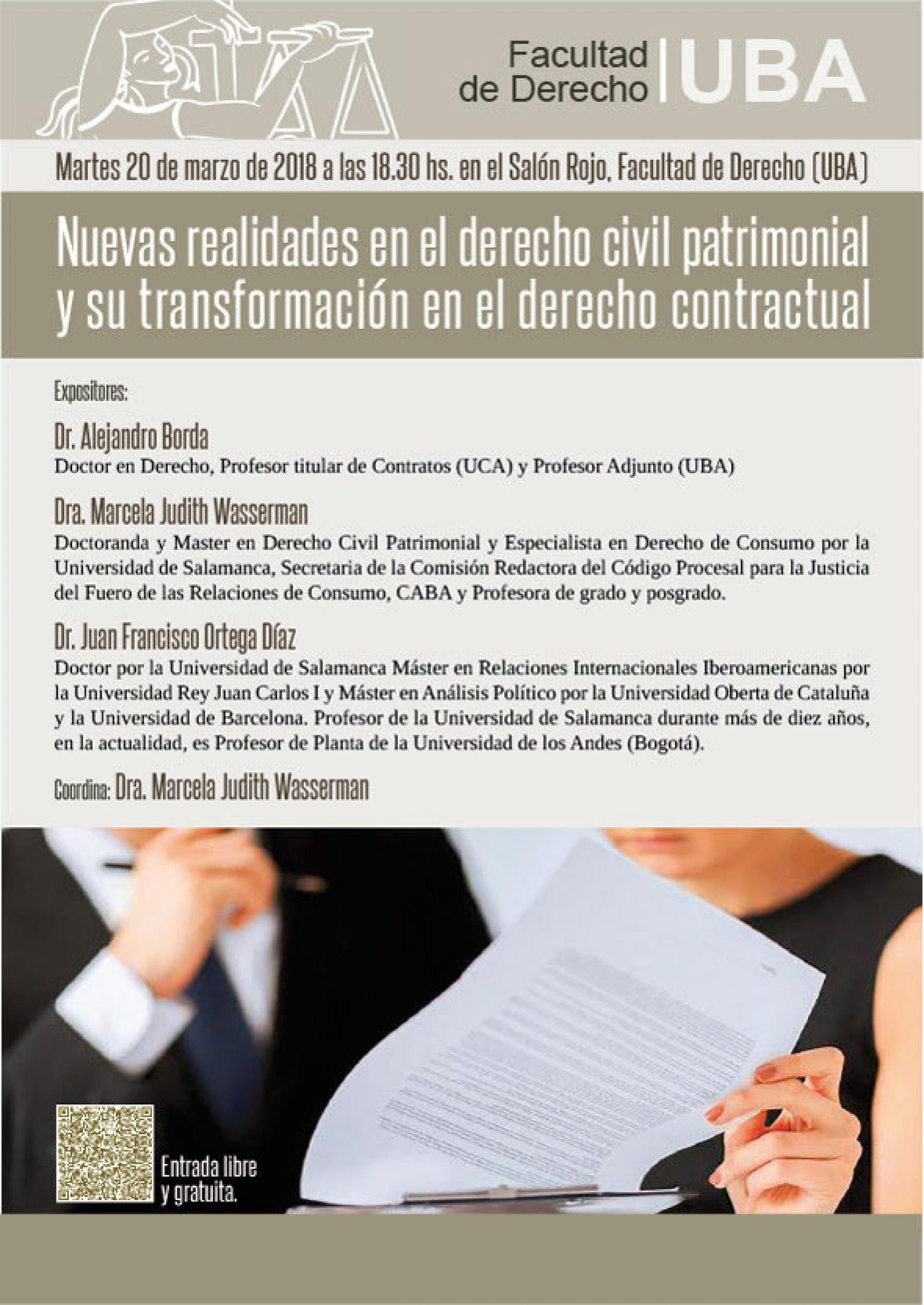 Nuevas realidades en el derecho civil patrimonial y su transformación en el derecho contractual