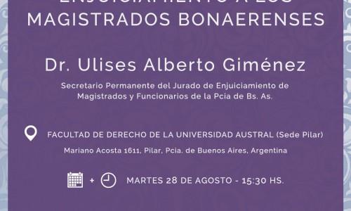 REFORMA A LA LEY DE ENJUICIAMIENTO A LOS MAGISTRADOS BONAERENSES