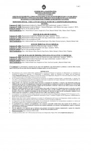 Convocatoria 04-001