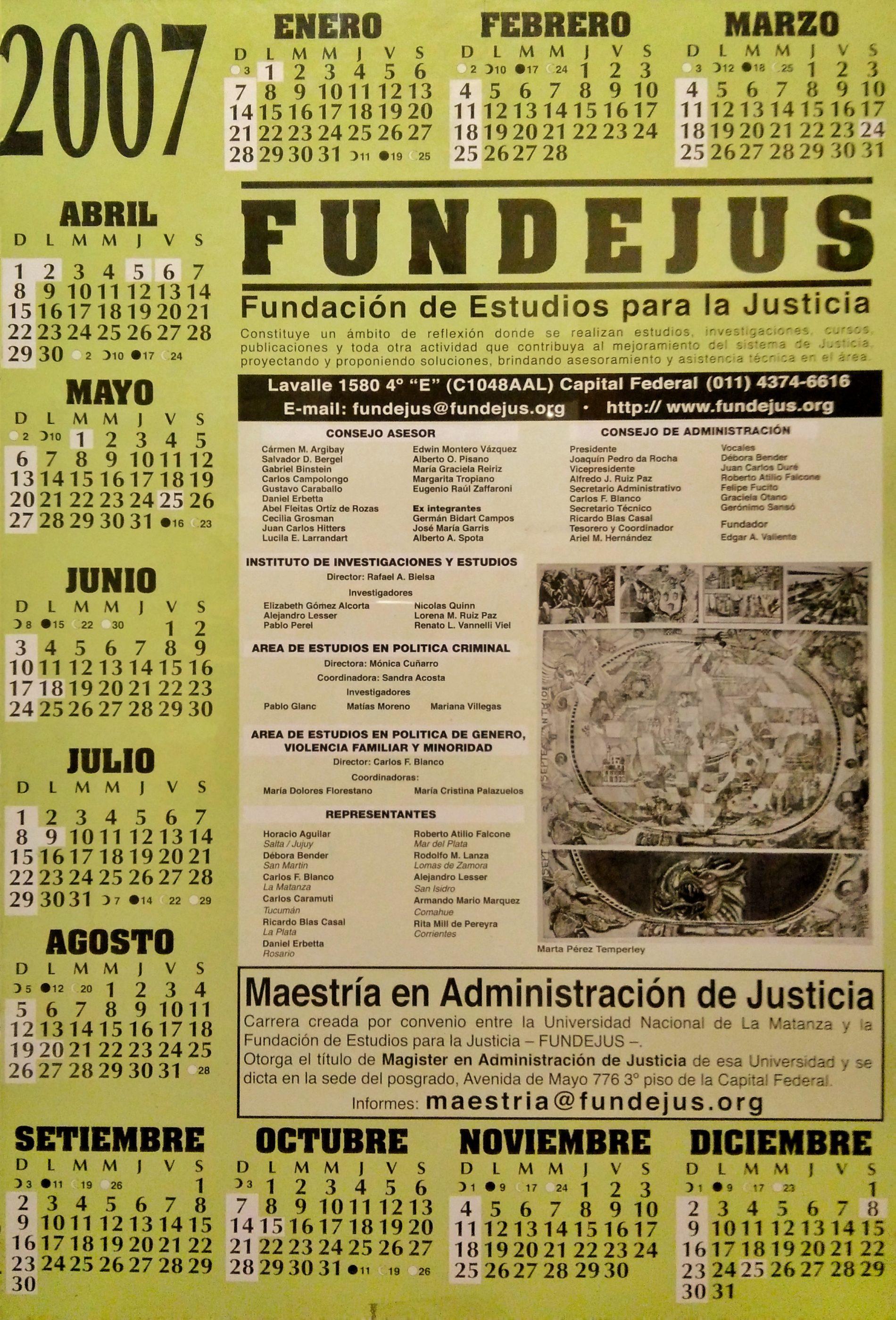 Almanaque 2007