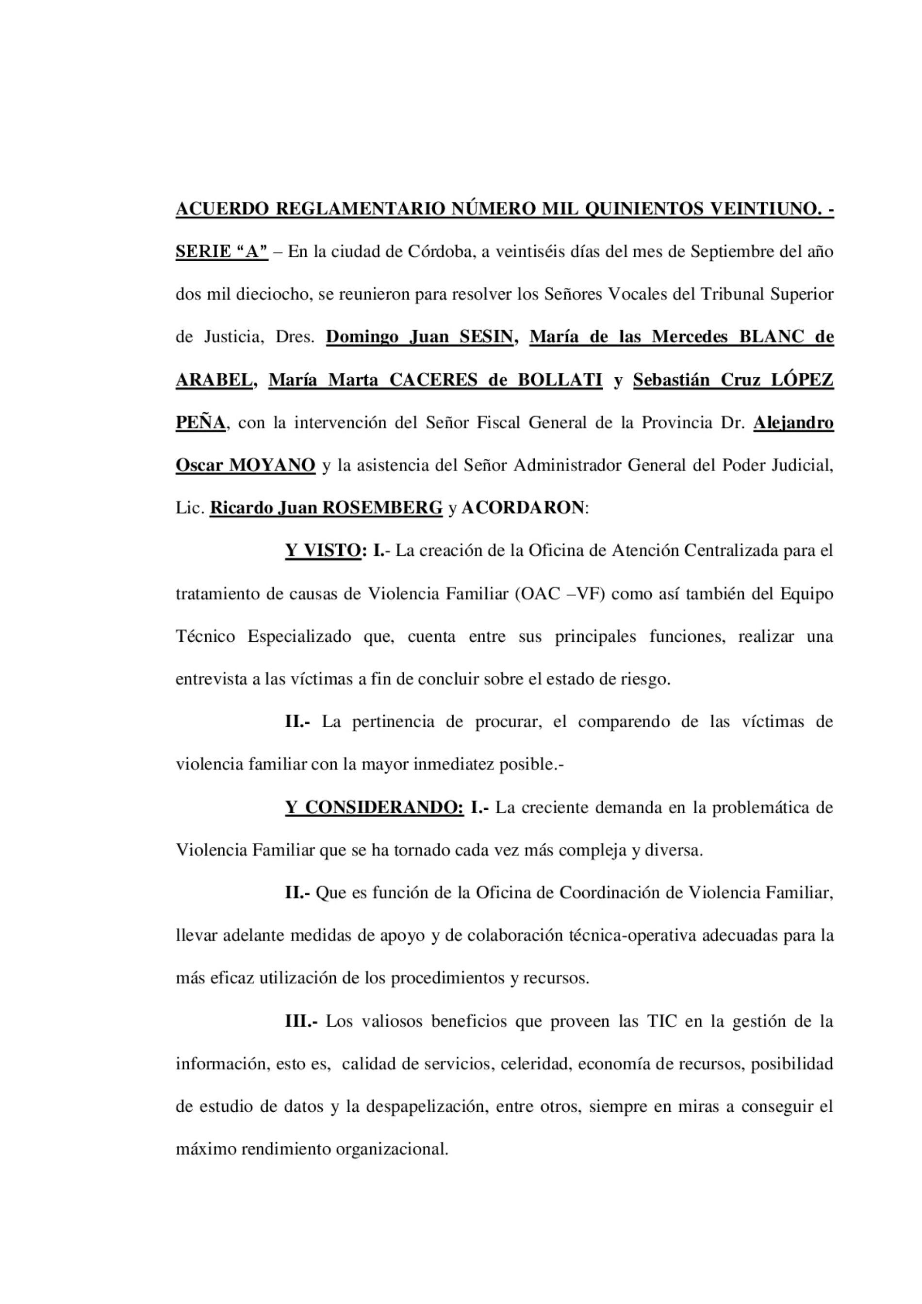 «Superior Tribunal de Córdoba (Acuerdo novedoso): Protocolo de comunicación electrónica c/víctimas de violencia de whatsapp»