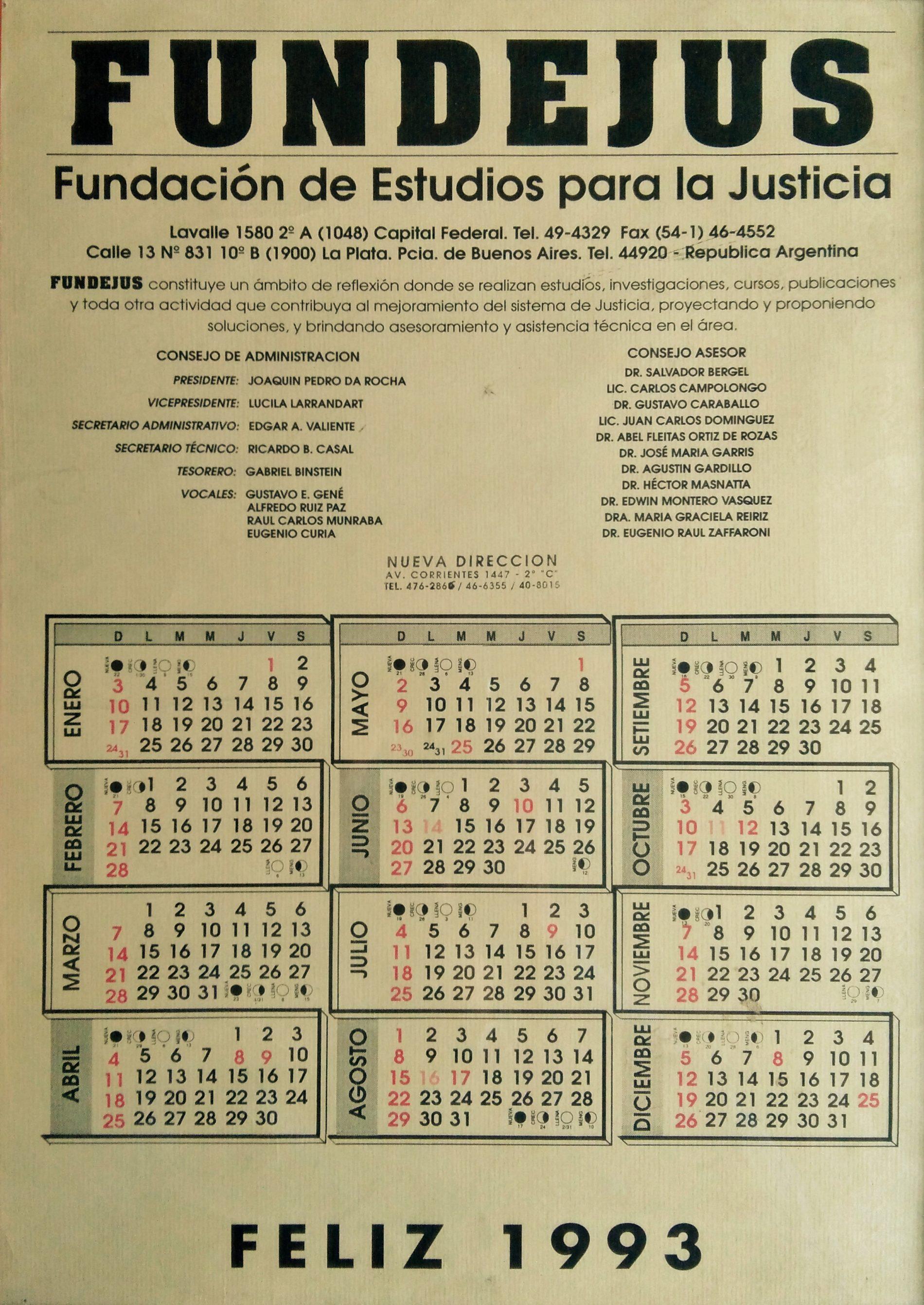 Almanaque 1993