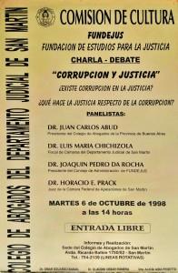 comision de cultura. corrupcion y justicia