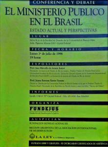 el ministerio publico en el brasil. estado actual y perspectivas