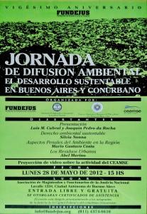 jornada de difusion ambiental