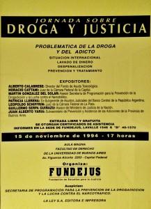 jornada sobre. droga y justicia