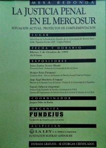 justicia penal en el mercosur 3 oct 1995