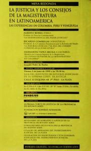 justicia y los consejo de la magistratura en latinoamercia