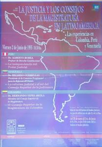 la justicia y los consejos de la magistratura en latinoamerica