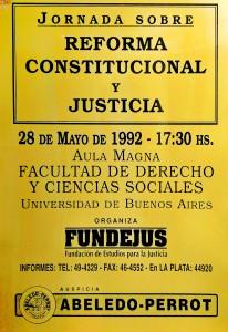 reforma constitucional y justicia