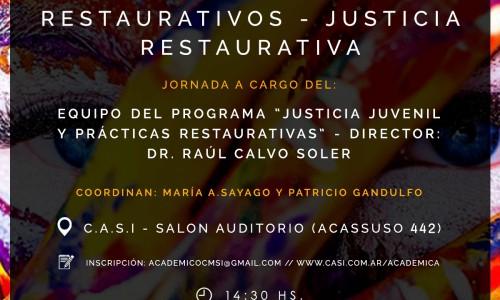 """""""DISEÑOS DE ESPACIOS RESTAURATIVOS – JUSTICIA RESTAURATIVA"""""""
