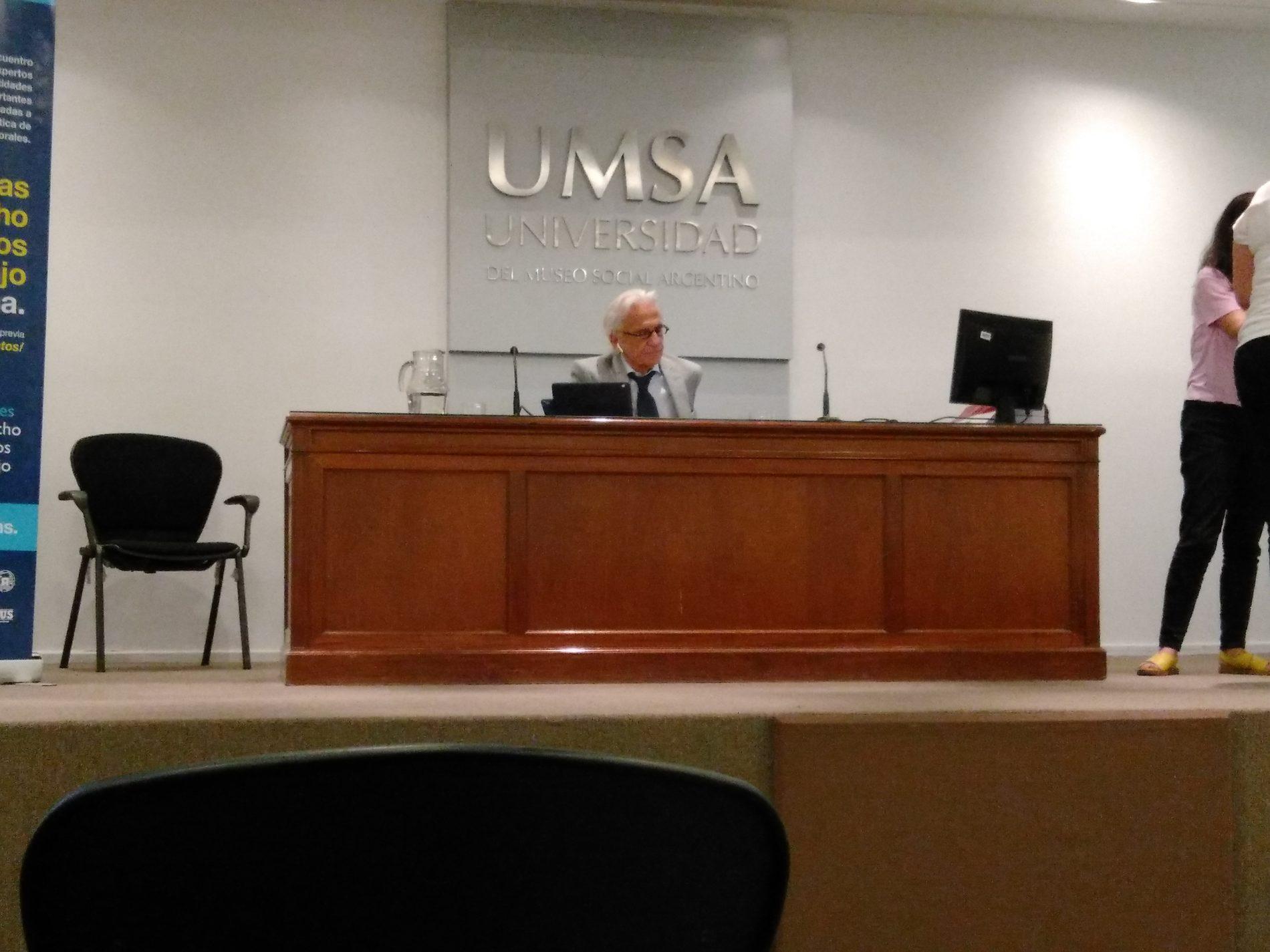 Participación del Dr. Gabriel Binstein en el cierre de las «II Jornadas de Derecho de Riesgos del Trabajo en Argentina»