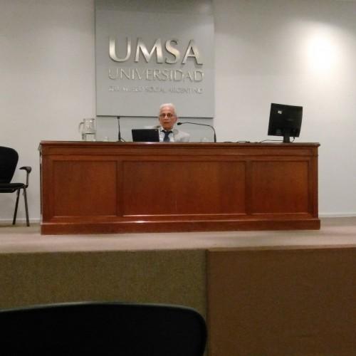 """Participación del Dr. Gabriel Binstein en el cierre de las """"II Jornadas de Derecho de Riesgos del Trabajo en Argentina"""""""