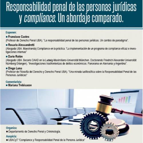 """""""Responsabilidad penal de las personas jurídicas y compliance. Un abordaje comparado"""""""