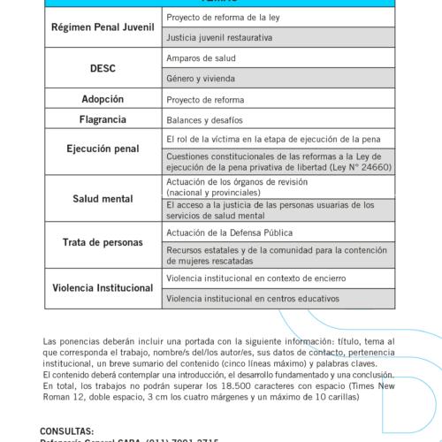 «VIII Jornadas Nacionales de la Defensa Pública Oficial»