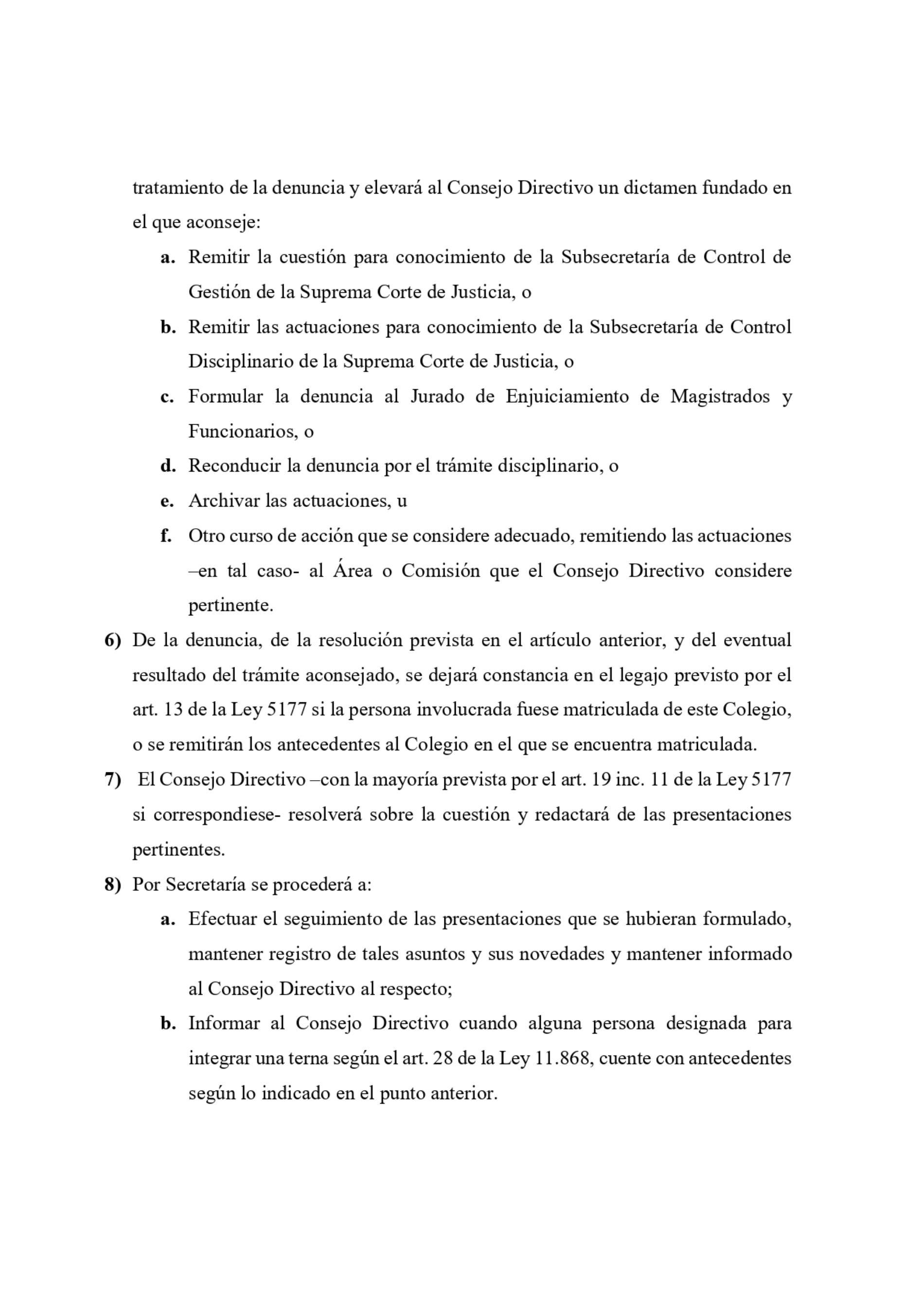 Colegio de Abogados de La Plata: » Protocolo de Defensa de los Derechos y Prerrogativas de la Abogacía «