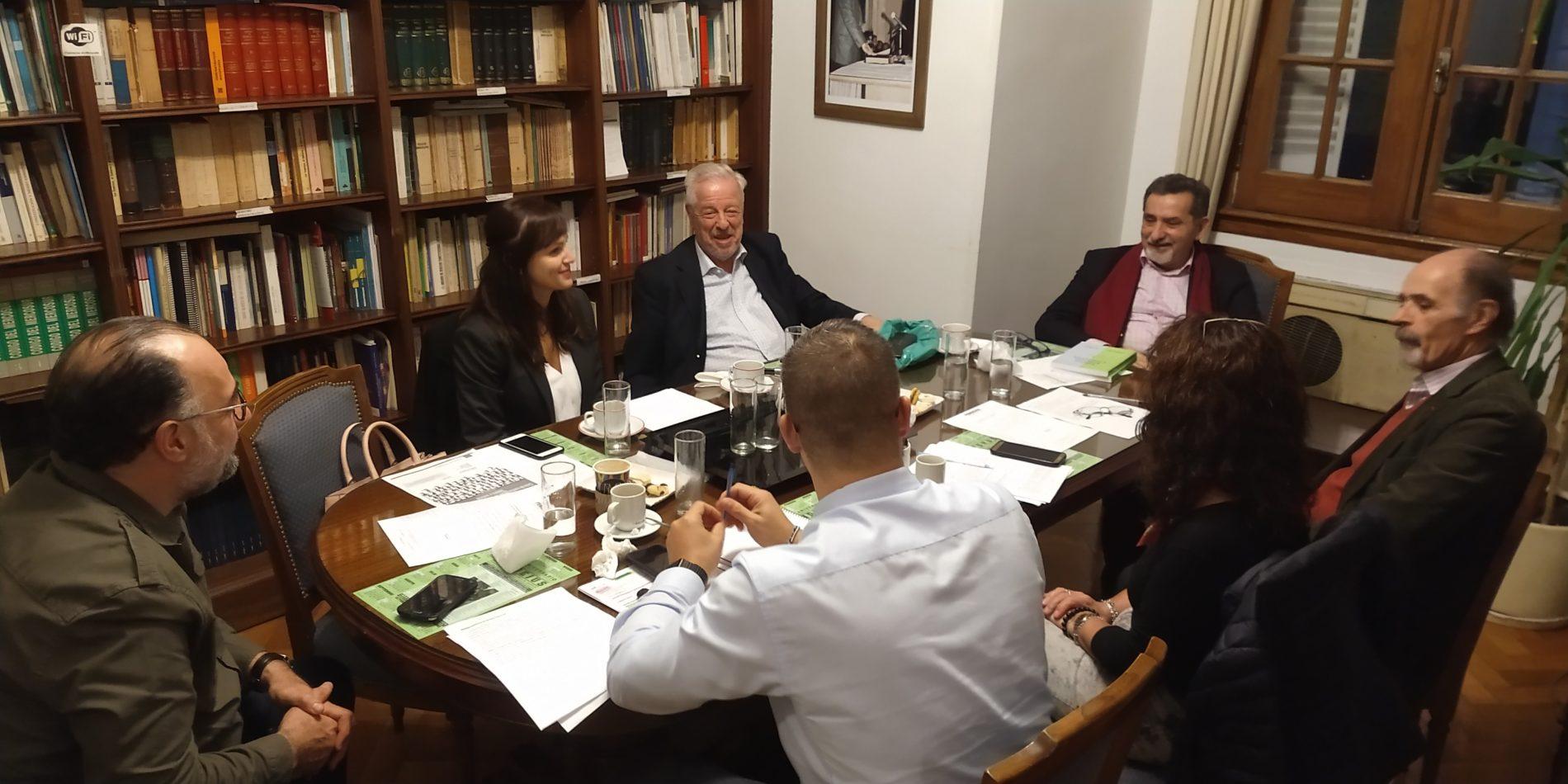 03/06/19. REUNIÓN DE TRABAJO DE LOS INTEGRANTES DEL CONSEJO DE ADMINISTRACIÓN ACOMPAÑADOS POR MIEMBROS DEL CONSEJO ASESOR E INVESTIGADORES.