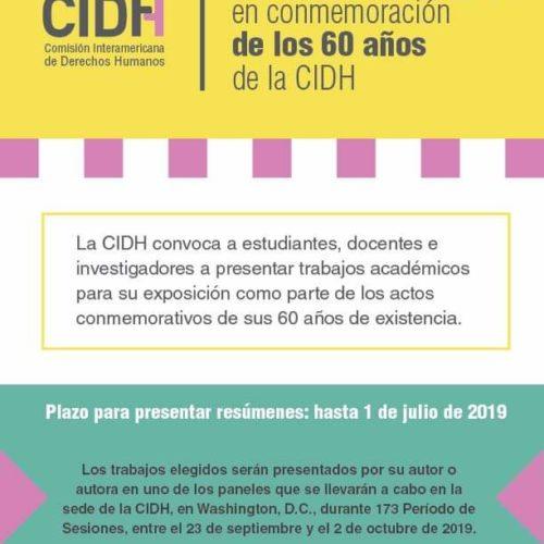 «Trabajos académicos en conmemoración de los 60 años de la CIDH»