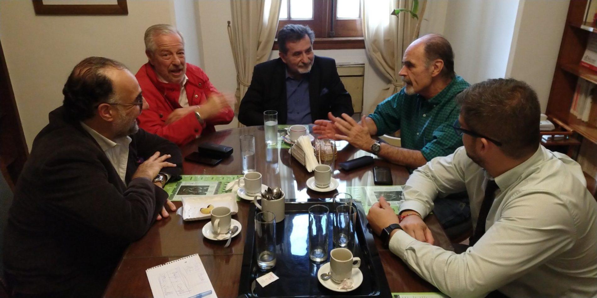 27/08/19. REUNIÓN DE TRABAJO DE LOS INTEGRANTES DEL CONSEJO DE ADMINISTRACIÓN ACOMPAÑADOS POR MIEMBROS DEL CONSEJO ASESOR.
