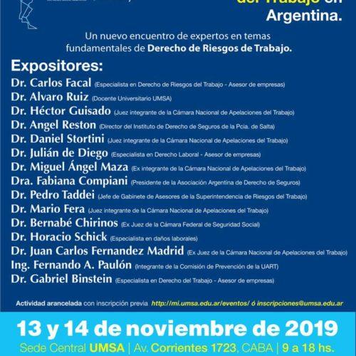 «III Jornadas Nacionales de Derecho de Riesgos del Trabajo en Argentina»