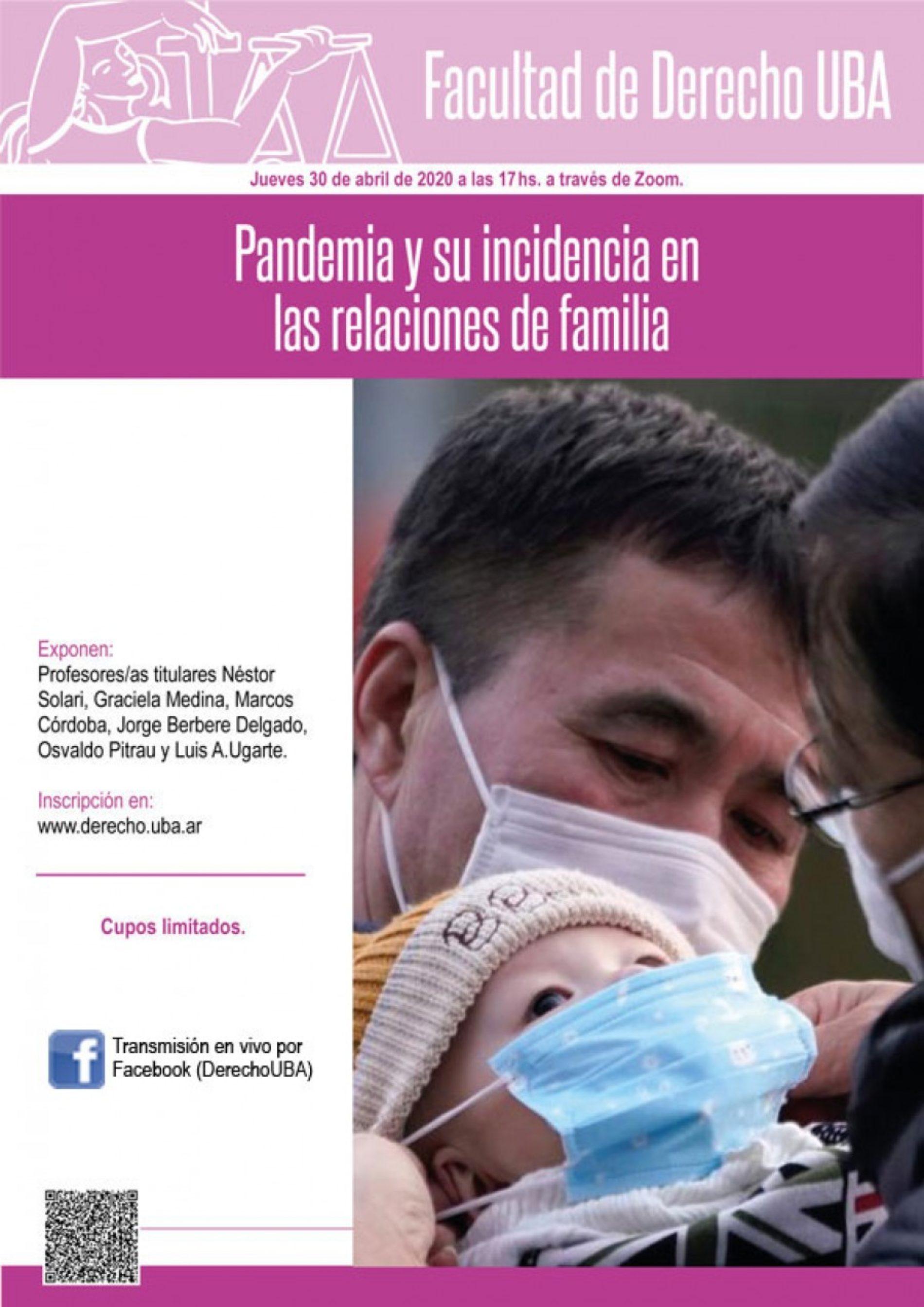 «Pandemia y su incidencia en las relaciones de familia»