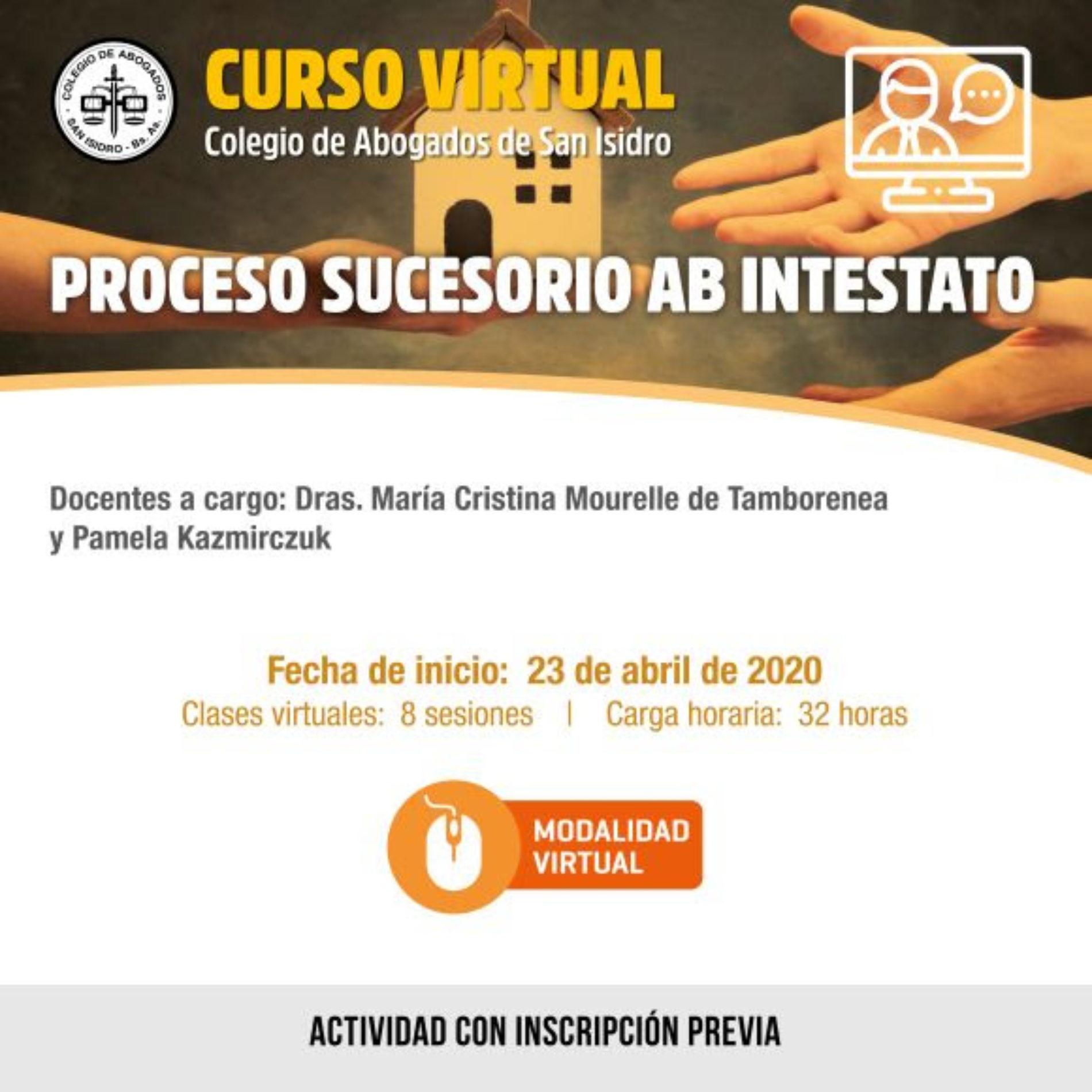 Curso virtual: Proceso Sucesorio Ab Intestato.