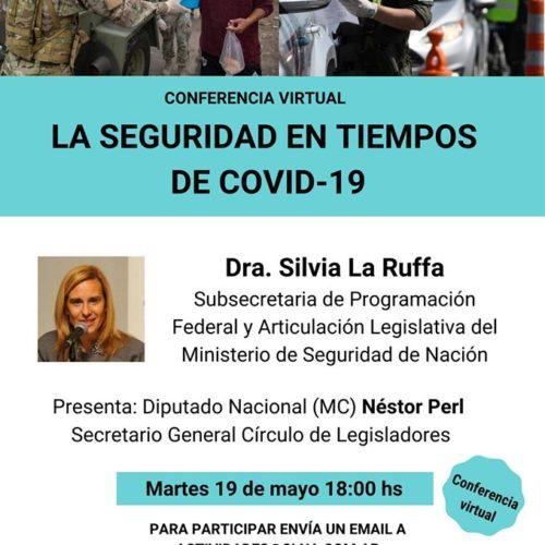 Conferencia virtual «La seguridad en tiempos de Covid-19»