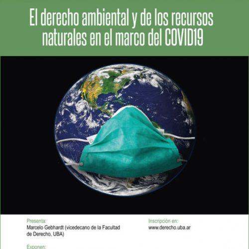 El derecho ambiental y de los recursos naturales en el marco del COVID19.