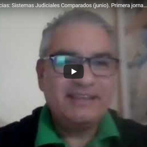 Primera jornada del Ciclo de conferencias de Sistemas Judiciales Comparados. Tema: República de Panamá.
