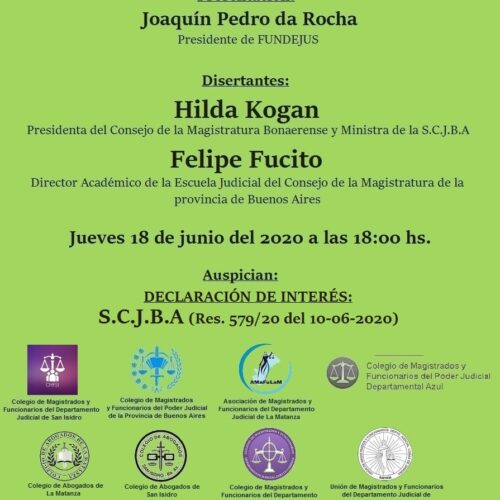 » Desafíos actuales en la selección y capacitación judicial en la provincia de Buenos Aires «