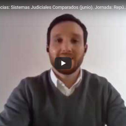 Tercera jornada del Ciclo de conferencias de Sistemas Judiciales Comparados. Tema: República del Ecuador.