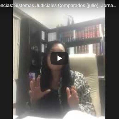 Tercera jornada del Ciclo de conferencias: Sistemas Judiciales Comparados -julio 2020-. Tema: República de Francia.