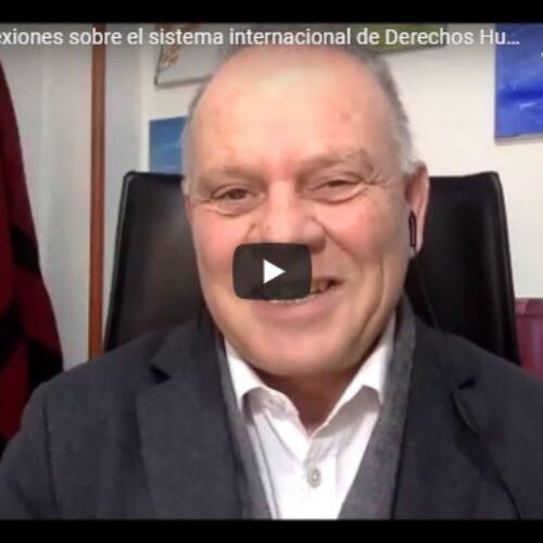 Jornada: «Reflexiones sobre el sistema internacional de Derechos Humanos»